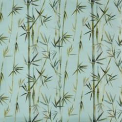 Tissu Pacific Bambou Ocean