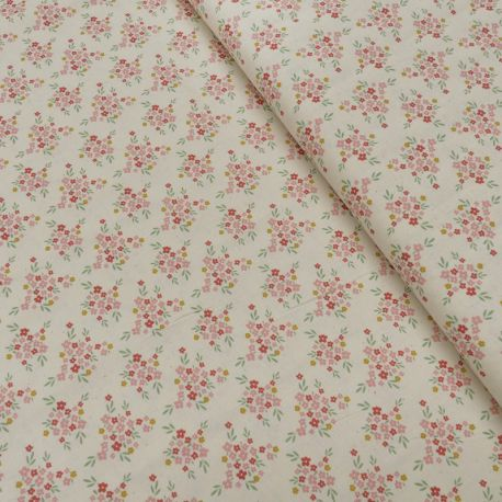 Tissu Wish Imprimé Bio Fleur Multico