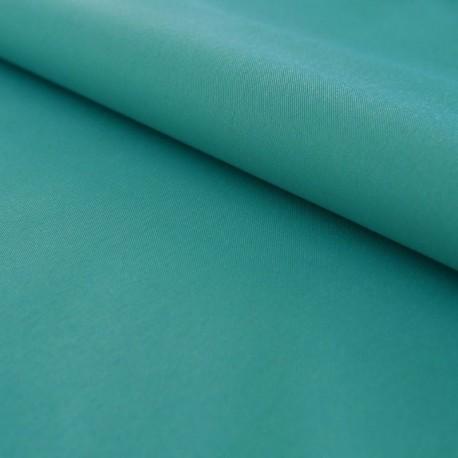 Tissu Toile Out Door Bleu Paon Uni