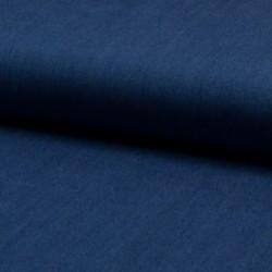 Tissu Chambrai Bleu Moyen