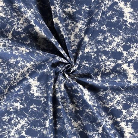 Tissu Jeans Ties&dies Bleu