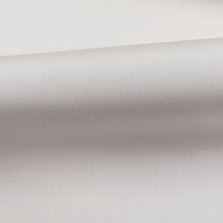 Tissu Toile plein Air Uni Blanc