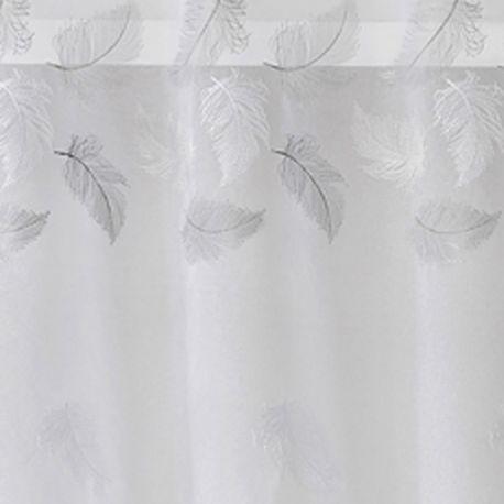 Voilage Plume Blanc