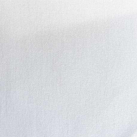 Tissu Sunny Toile Uni Blanc