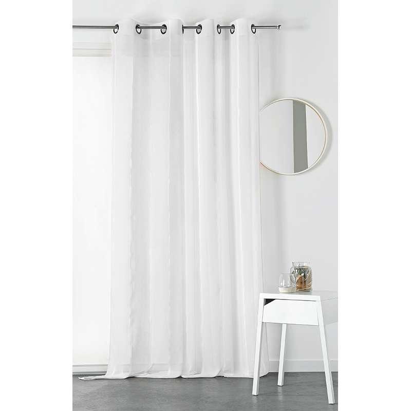 Tissu Voilage Ines Blanc