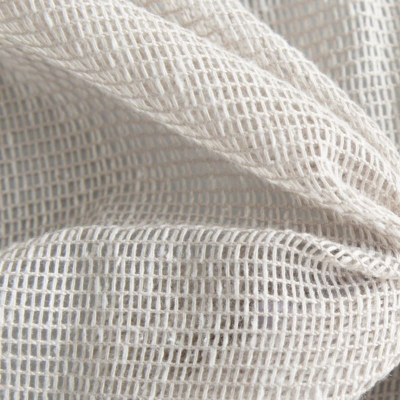 Tissu Voilage Filet Uni Origina Blanc