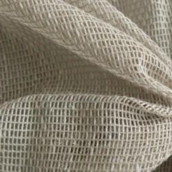 Tissu Voilage Filet Uni Origina Coloris Lin