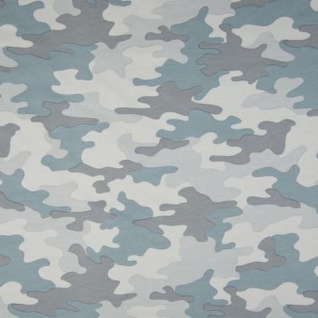 Tissu Camouflage Bleu