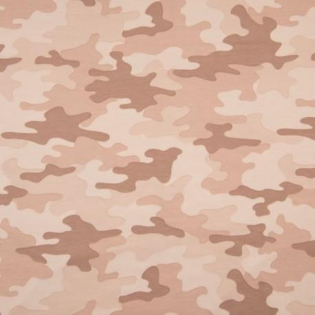 Tissu Camouflage Rose