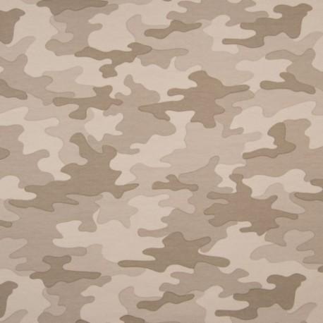 Tissu Camouflage Sable