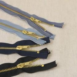 Fermeture Eclair Jeans Non Séparable