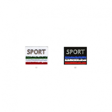 Ecusson thermocollant Sport Italie/france
