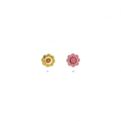 Ecusson Thermocollant Fleur/oiseau Patchwork Fleur