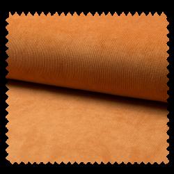Tissu Veloutine Unie Brique
