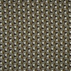 Tissu Viscose Géometrique Kaki