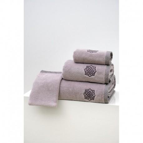 Linge de Toilette Calvi Perle en Micro Coton