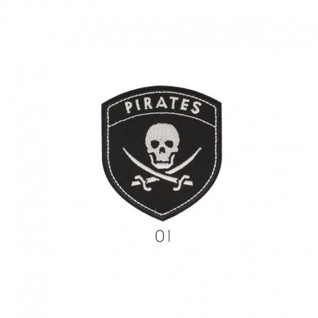 Ecusson Thermocollant Mgm Pirates