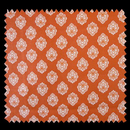 Tissu Cretonne Regalido Mouche All Over Orange