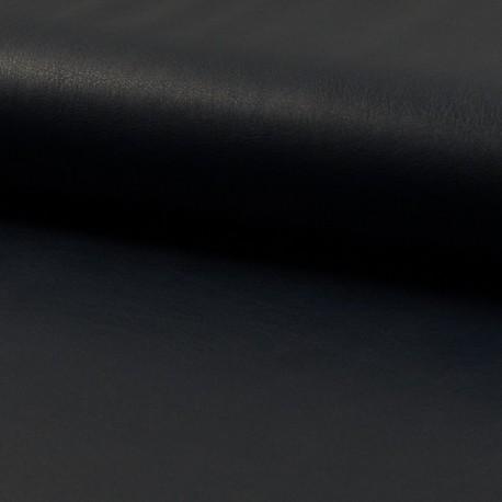 Tissu Simili cuir Navy