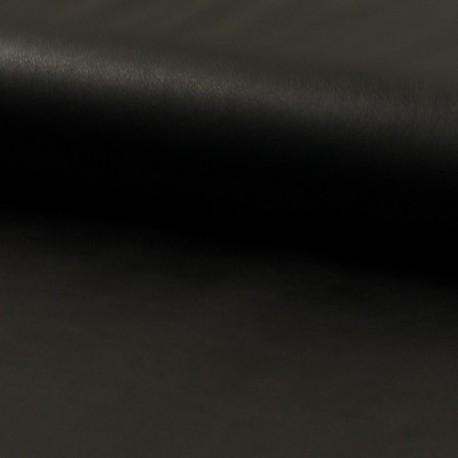 Tissu Simili Cuir Noir