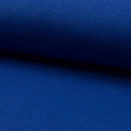 Tissu Bord Cote Uni Royal