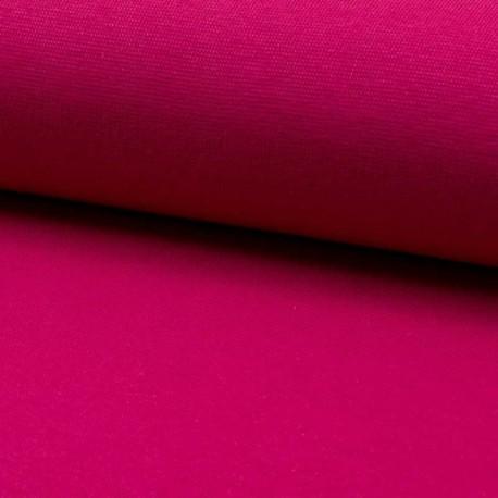 Tissu Bord Cote Uni Fuchsia