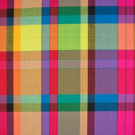 Tissu Madras Multicolore