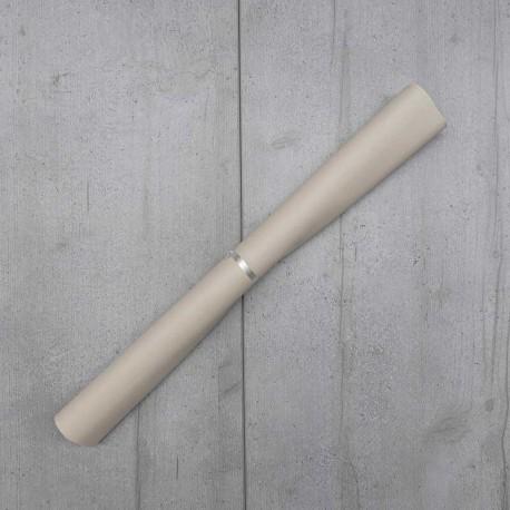 Coupon Simili cuir Karia Grege 50x140 cm
