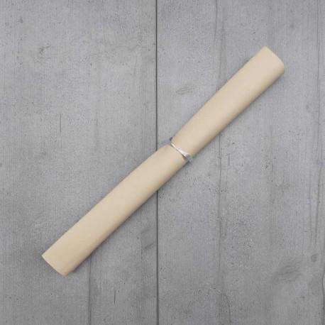Coupon Simili Cuir Karia Ecru 50x140 cm
