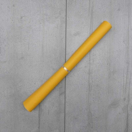 Coupon Simili Cuir Karia Jaune 50x140 cm