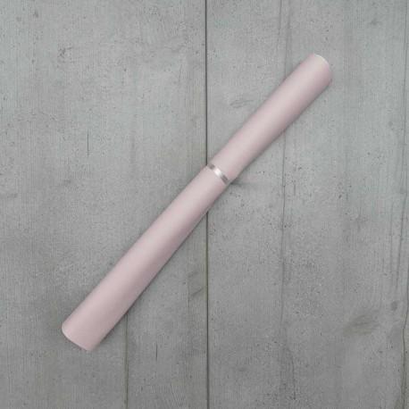 Coupon Simili Cuir Karia Rose 50x140 cm
