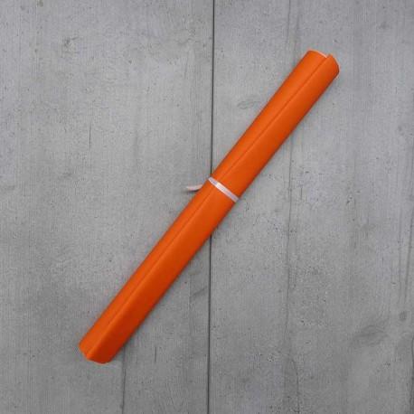 Coupon Simili Cuir Karia Orange 50x140 cm