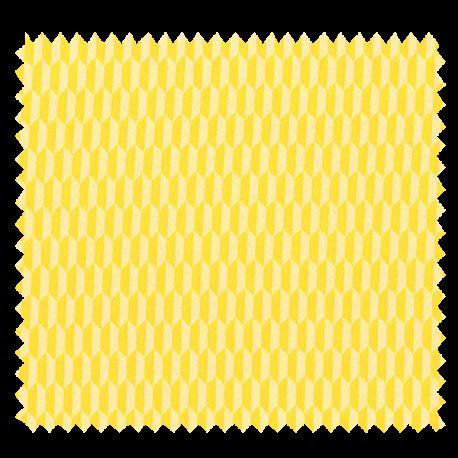 Tissu Imprimé Columbia Jaune