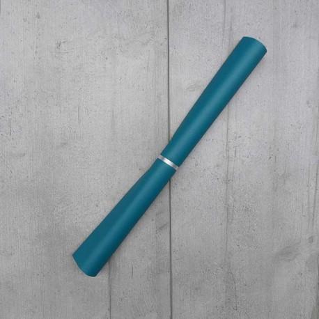 Coupon Simili cuir Karia Canard 50x140 cm