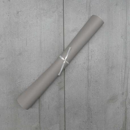 Coupon Simili Cuir Karia Tourterelle 50x140 cm