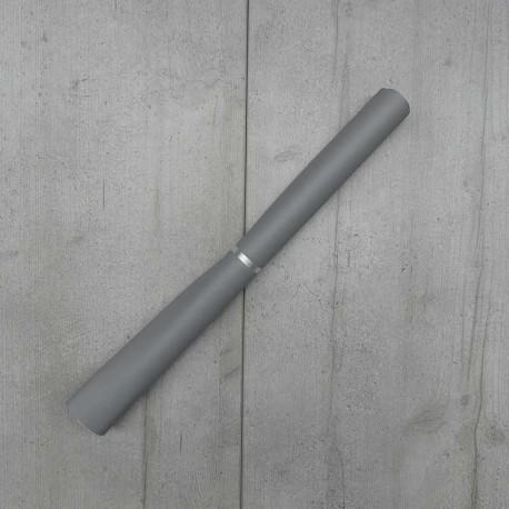Coupon Simili Cuir Karia Gris 50x140 cm
