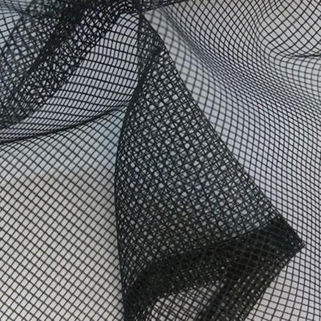 Tissu Moustiquaire Uni Noir
