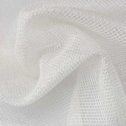 Tissu Voilage Etamine Beluga Uni Blanc