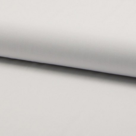Tissu Viscose Uni Blanc