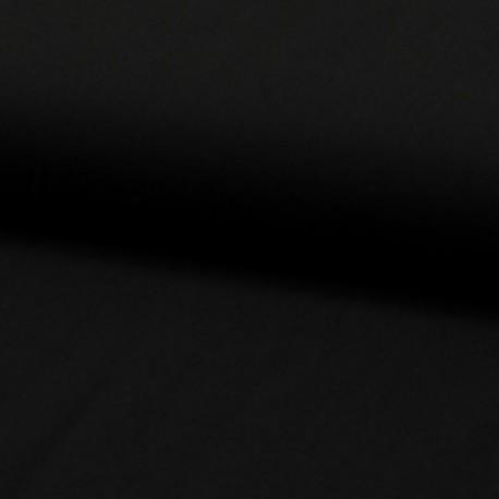 Tissu Viscose Uni Noir