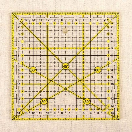 Règle Patchwork 15x15cm