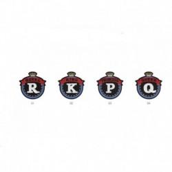 Ecusson Thermocollant Badge Royal