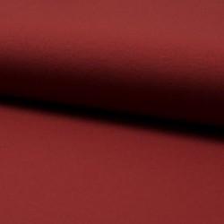 Tissu Jersey Luxe Uni Terracotta