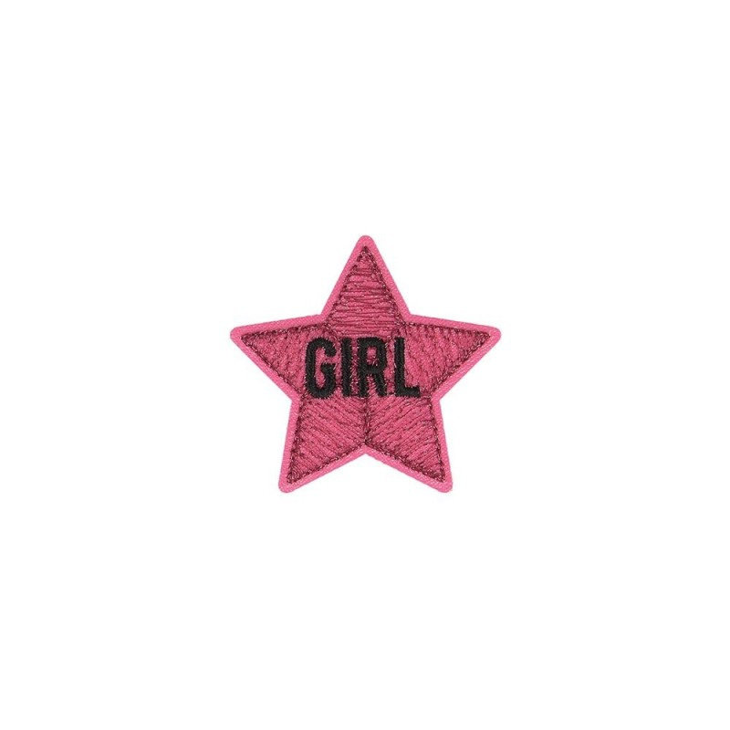 Ecusson Thermocollant Girly