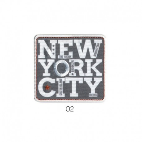 Ecusson Thermocollant Motif New York City