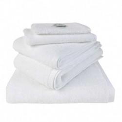Linge de Toilette Jade Blanc Coton Egyptien