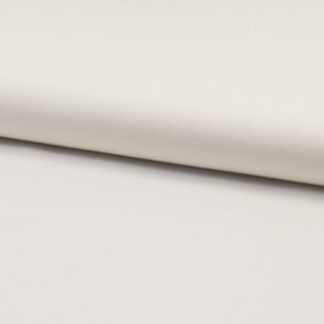 Tissu Voile de Coton Toucher Soie Blanc Cassé