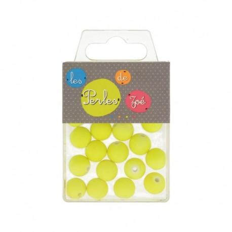 Perles Plastique 12mm 18gr