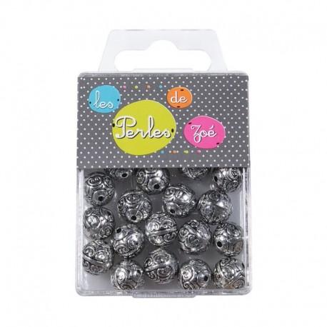 Perles Rondes 11mm 20gr