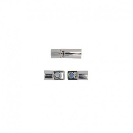 Fermoir Metal Argent 28x9mm